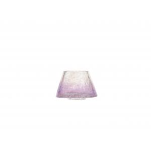 Savoy Purple Crackle - väike küünlakuppel