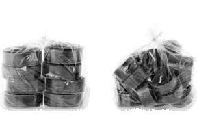 Black - plastik suur teeküünal 8tk.